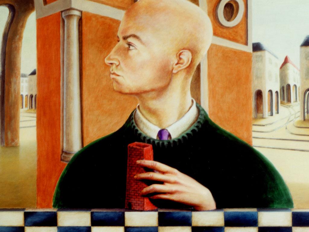 Retrato de Juan Antonio Mañas por Brigitte Szenczi
