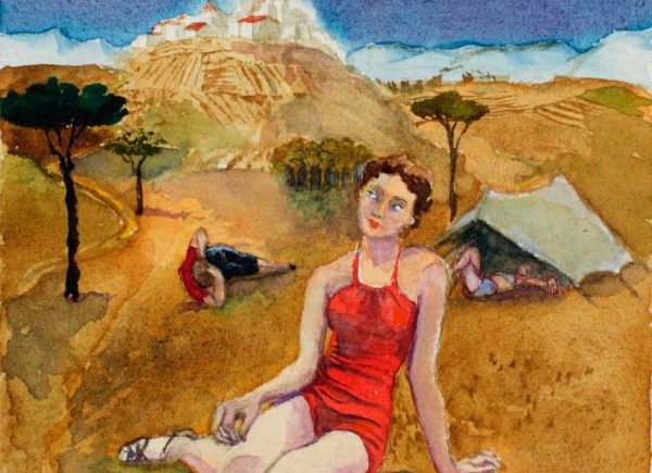 Brigitte Szenczi - Sin título - 12 x 12 cm Acuarela sobre papel 2014